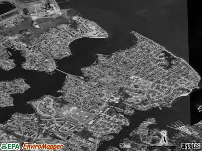 Riviera Beach satellite photo by USGS
