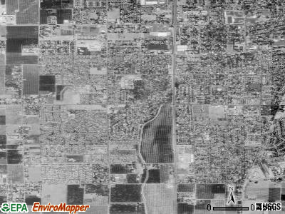 South Yuba City satellite photo by USGS