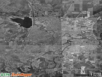 San Angelo satellite photo by USGS