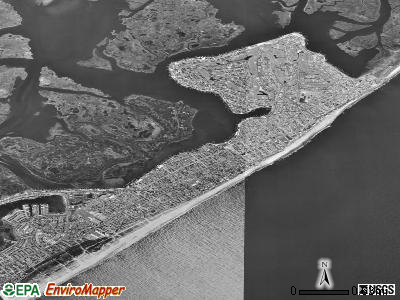 Brigantine satellite photo by USGS