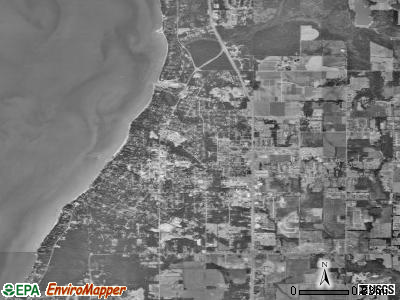 Fairhope satellite photo by USGS