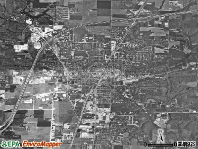 Effingham satellite photo by USGS
