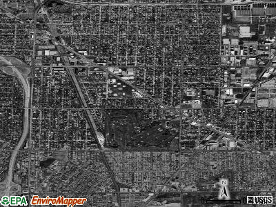 Lincolnwood satellite photo by USGS
