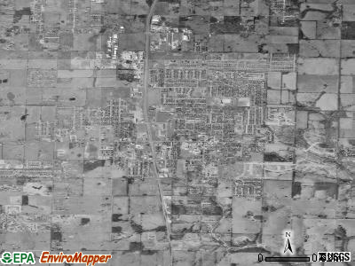Nixa satellite photo by USGS