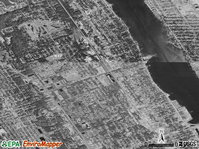 Holly Hill satellite photo by USGS