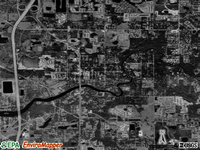 Riverview satellite photo by USGS