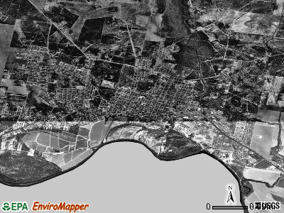 Rio Grande City satellite photo by USGS