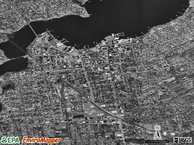 Red Bank satellite photo by USGS