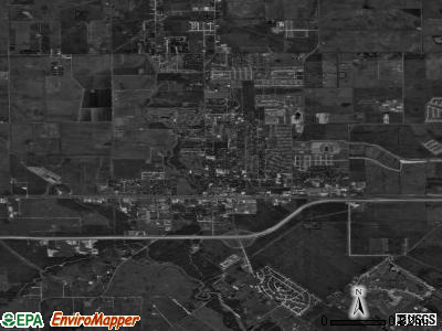 Katy satellite photo by USGS