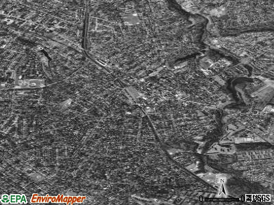 Haddonfield satellite photo by USGS