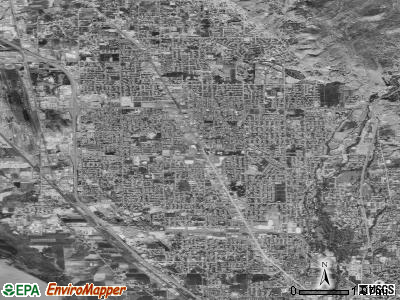 Orem satellite photo by USGS