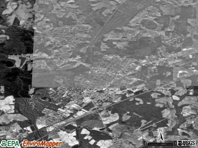 Smithfield satellite photo by USGS