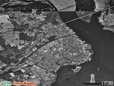 Havre de Grace satellite photo by USGS