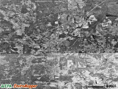 Kilgore satellite photo by USGS