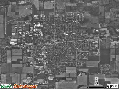 Sturgis satellite photo by USGS