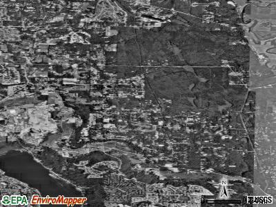 Canandaigua satellite photo by USGS