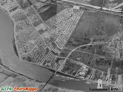 Destrehan satellite photo by USGS