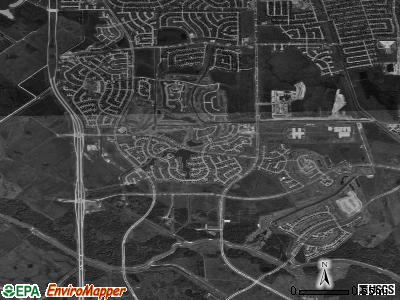 Cinco Ranch satellite photo by USGS