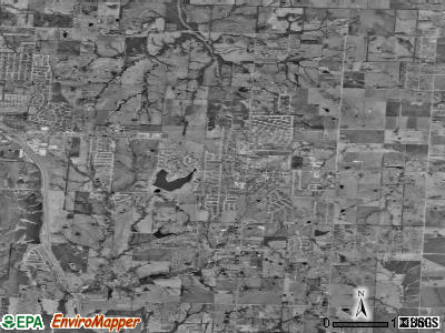 Raymore satellite photo by USGS