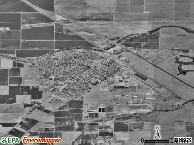 Chowchilla satellite photo by USGS