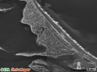 Hull satellite photo by USGS