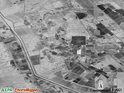 San Elizario satellite photo by USGS