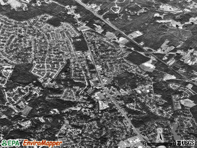 Irmo satellite photo by USGS