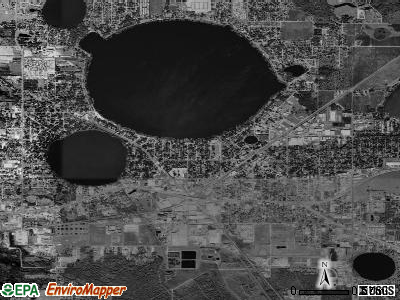 Auburndale satellite photo by USGS