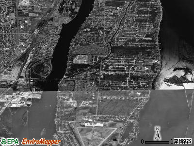 Grosse Ile satellite photo by USGS