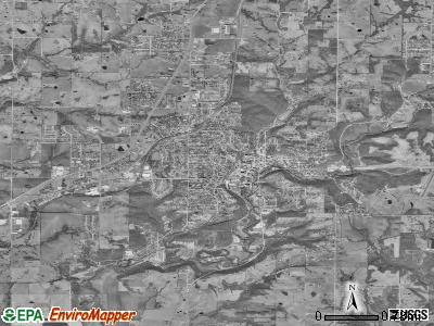 Excelsior Springs satellite photo by USGS