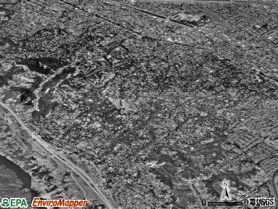 Hillsborough satellite photo by USGS