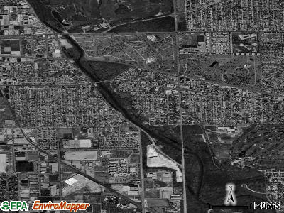 River Grove satellite photo by USGS