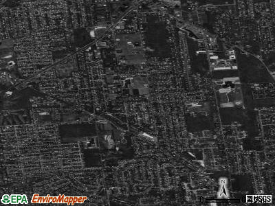 Terryville satellite photo by USGS