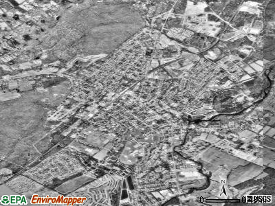 Hackettstown satellite photo by USGS