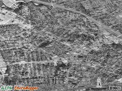 Falls Church satellite photo by USGS