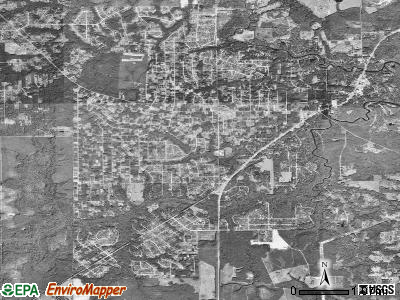 Middleburg satellite photo by USGS