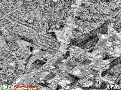 Manassas Park satellite photo by USGS