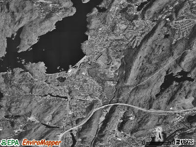 Wanaque satellite photo by USGS