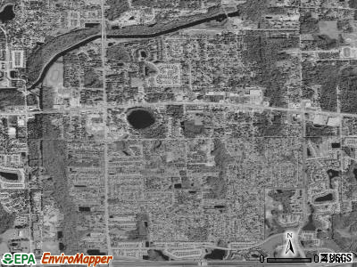 Union Park satellite photo by USGS