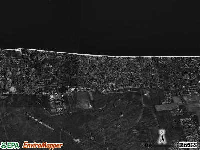 Rocky Point satellite photo by USGS