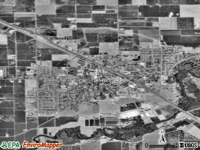 Ripon satellite photo by USGS