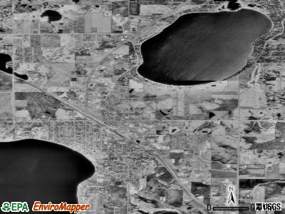 Buffalo satellite photo by USGS