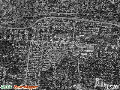 North College Hill satellite photo by USGS