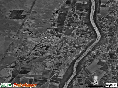 Los Lunas satellite photo by USGS