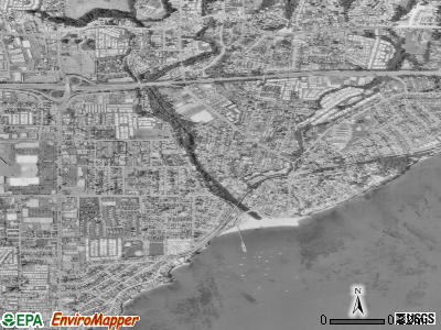 Capitola satellite photo by USGS