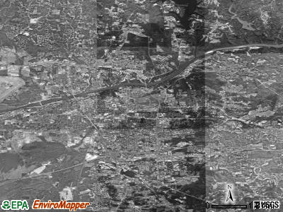 Tuscaloosa satellite photo by USGS