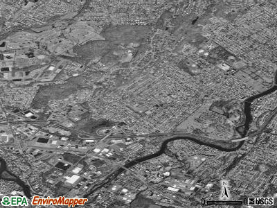 Totowa satellite photo by USGS