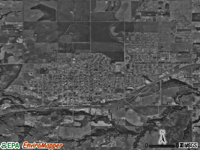 Weatherford satellite photo by USGS