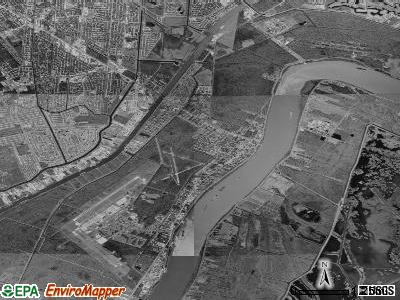 Belle Chasse satellite photo by USGS