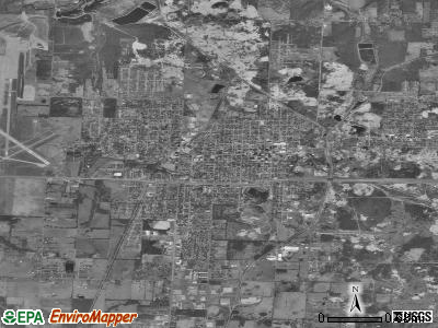 Webb City satellite photo by USGS